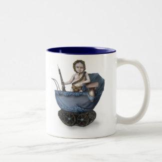 Babe in Arms Two-Tone Coffee Mug