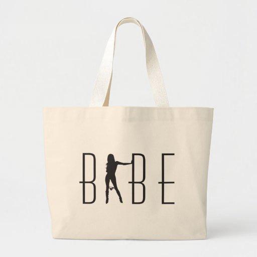 Babe logo bag