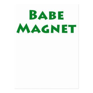 Babe Magnet Postcard