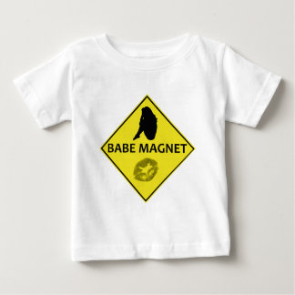 Babe Magnet Yellow Road Sign Infant's T-Shirt