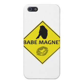 Babe Magnet Yellow Road Sign iPhone Case