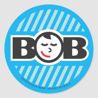 Babe on Board (boy) Classic Round Sticker