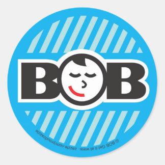 Babe on Board boy Round Stickers
