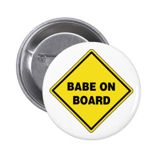 Babe On Board Buttons