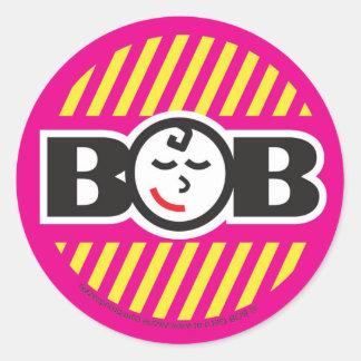 Babe on Board Classic Round Sticker