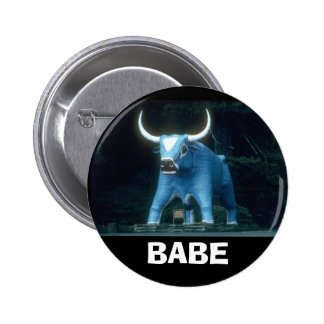 Babe the Blue Ox Pinback Button