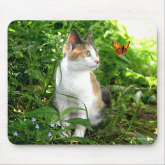 """Babe & The Butterfly"" Mousepad"