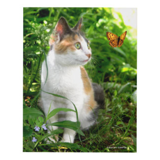 """""""Babe & The Butterfly"""" Panel Wall Art"""
