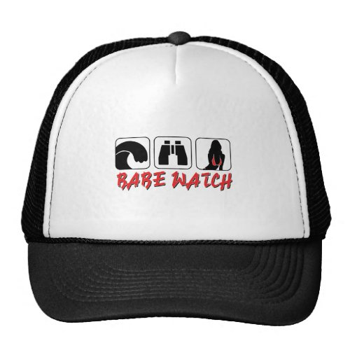 Babe Watch – Sun Surf and Girls Trucker Hat