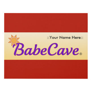 BabeCave Sign