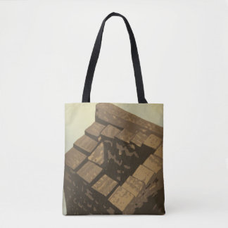 """""""Babel"""" All-Over-Print Tote Bag"""