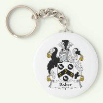 Baber Family Crest Keychain