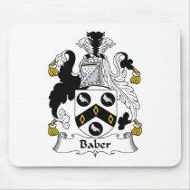 Baber Family Crest Mousepad