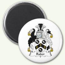 Baber Family Crest Magnet