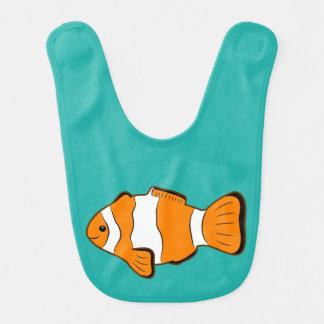 Babero del bebé de Clownfish