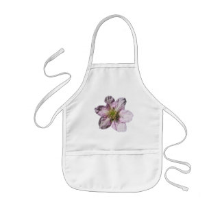 Babero del bebé del ~ de la flor de Blackberry Delantal Infantil