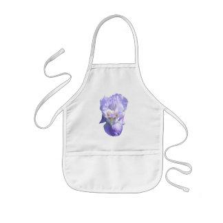 Babero del bebé del ~ del iris barbudo delantal infantil