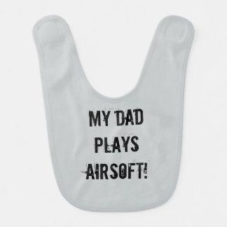 Babero del papá de Airsoft