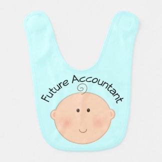 Babero futuro del bebé del contable