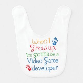 Babero futuro del bebé del desarrollador del video
