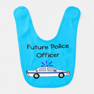 Babero futuro del coche del oficial de policía