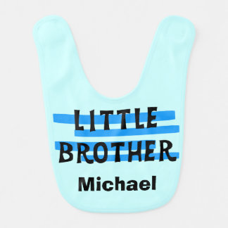 Babero personalizado de pequeño Brother