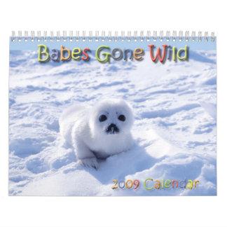 Babes Gone Wild Animals 2009 - 2010 Calendar