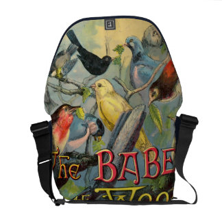 Babes in the Wood Courier Bag