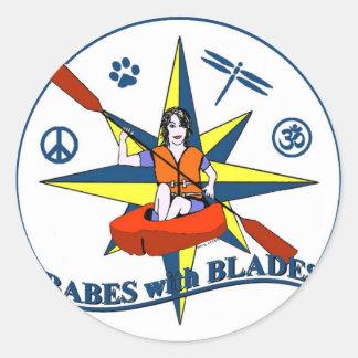 Babes With Blades sticker