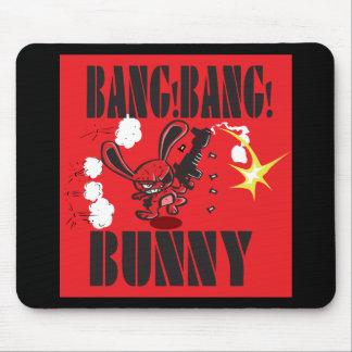 Babg Bang Bunny Mouse Pad