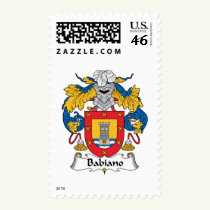 Babiano Family Crest Stamps