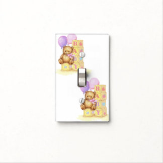 Babies and Teddy Bears Switch Plate Cover