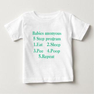 Babies anonyous-5 Step program-2 Tee Shirt