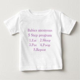 Babies anonyous-5 Step program-3 Tee Shirt