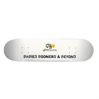 BABIES BOOMERS & BEYOND SKATEBOARD DECK