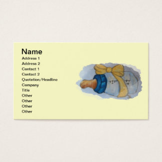 Babies bottle business card