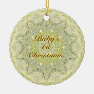 BABIES FIRST CHRISTMAS CERAMIC ORNAMENT