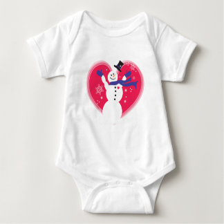 Babies First Snow Baby Bodysuit
