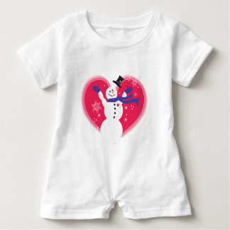 Babies First Snow Baby Romper