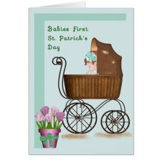 Babies First St. Patrick's Day Card
