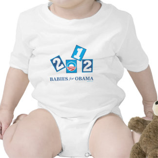 Babies for Obama 2012 T-shirt