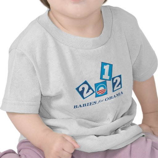 Babies for Obama 2012 Tee Shirt