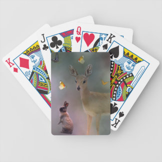 Babies forest fantasy bicycle playing cards