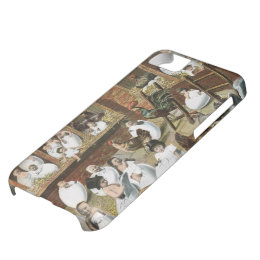 Babies Hatching in the Chicken Coop Vintage iPhone Case For iPhone 5C