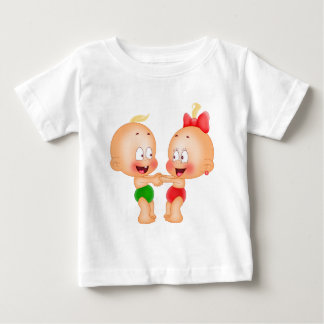 babies holding hands baby T-Shirt