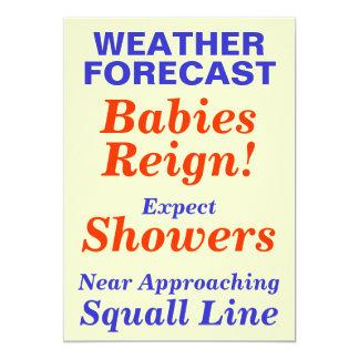 Babies Reign Baby Shower Invite