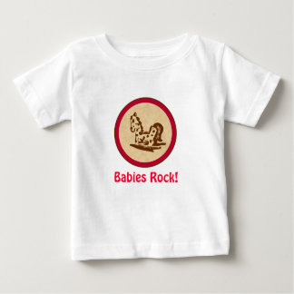 Babies Rock! Rocking Horse Baby T-Shirt
