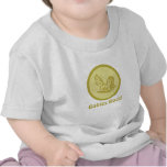 Babies Rock! Rocking Horse Chartreuse T-shirts