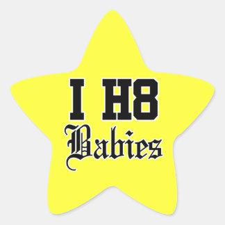 babies star sticker