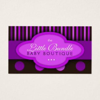 Babies Store Baby Shop Baby Boutique Business Card